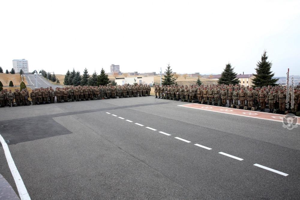ՀՀ ՊՆ - Tactical drill held for Defence Ministry central