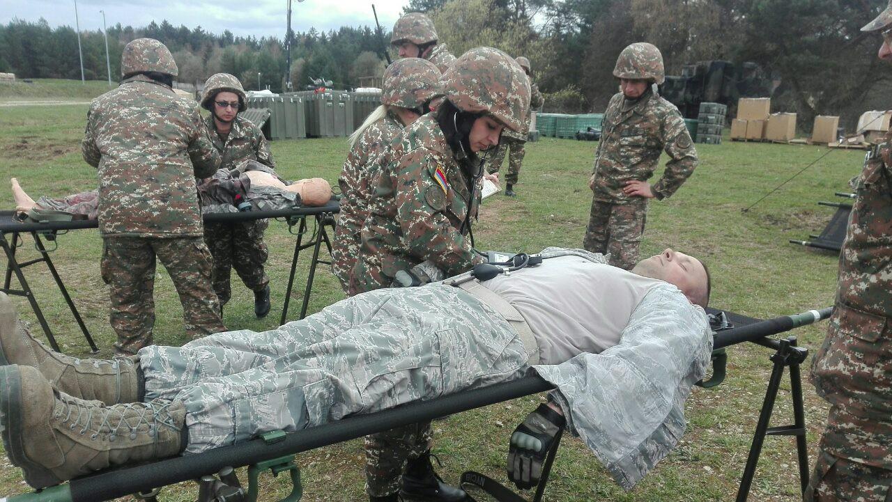 ՀՀ ՊՆ - Armenian servicemembers participate in multinational